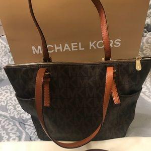 Michael kors Brown print bag